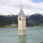 Kirchturm in Graun